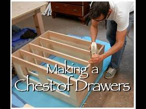 Shaker Chest of Drawers Building Process by Doucette and