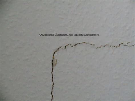 Risse Zwischen Decke Und Wand Ausbessern by Risse Im Mauerwerk Ausbessern H 228 User Immobilien Bau