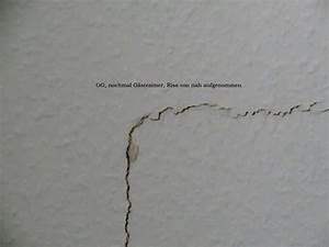 Risse In Der Wand Ausbessern : risse in der wand innen h user immobilien bau ~ Lizthompson.info Haus und Dekorationen