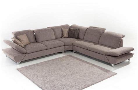 canapé cuir 6 places canapé d 39 angle lineflex 6 places en cuir ou tissu
