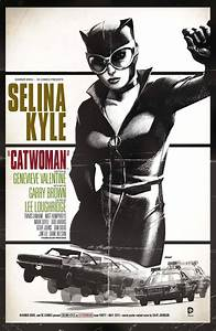PREVIEWSworld - CATWOMAN #40 MOVIE POSTER VAR ED