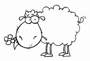 Clip Art Sheep Black And White | New Calendar Template Site