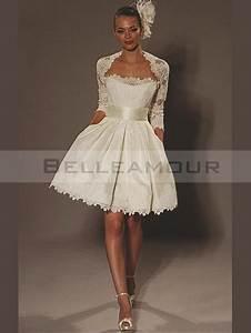 Robe Mariee Courte : robe courte dentelle ivoire ~ Melissatoandfro.com Idées de Décoration