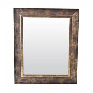 gold brushed wood frame mirror 11 quot x 14 quot at menards 174