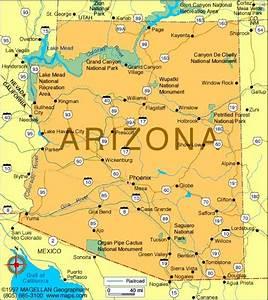 The, Wave, Arizona, Map
