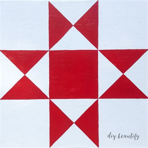 Free Barn Quilt Patterns by How To Make A Diy Barn Quilt Diy Beautify