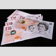Here's What The New Plastic Ten Pound Note Will Look Like