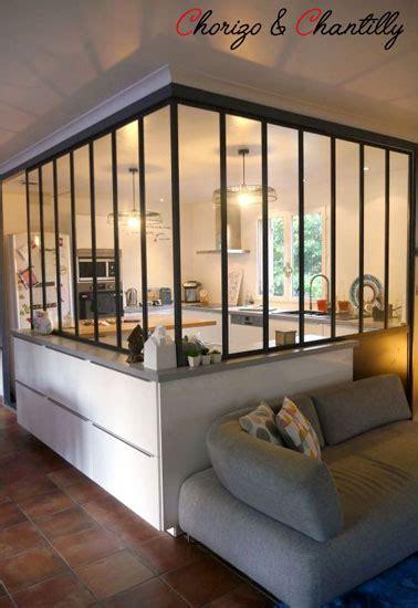 luminaires pour cuisine déco cuisine esprit atelier avec une verrière intérieure