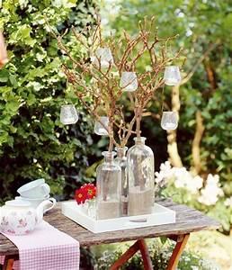 Beleuchtung Für Gartenparty : deko und accessoires im kupfer look gartenparty beleuchtung und tischdeko ~ Markanthonyermac.com Haus und Dekorationen