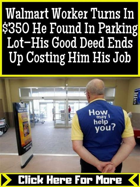 Worker Turns In 350 He Found In Parking Lothis Good Deed Ends Up Costing Him His Job May I