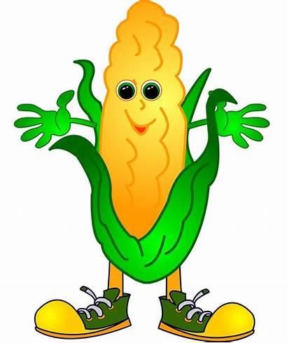 Corn Clip Clipart Vegetable Craft Garden Vegetables