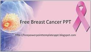cancer powerpoint templates free download themomentsco With breast cancer ppt template