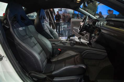 ford mustang gt front interior seats  motor trend