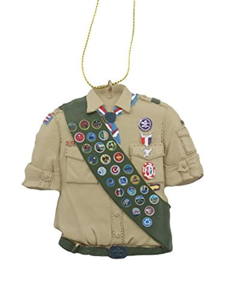 eagle scout shirt detailed with eagle accessories
