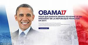 Will Obama Contest The 2017 France's Presidential Election?