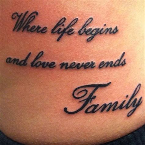 family quote tattoo tattoos pinterest fonts  ojays  awesome
