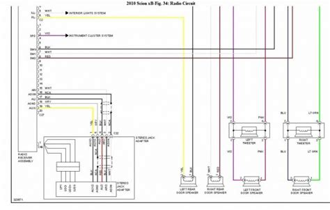 2013 scion xb radio wiring diagram