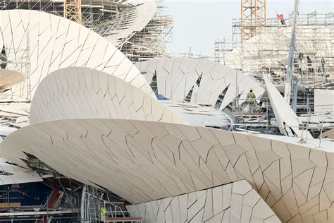 Nationalmuseum Katar In Doha by Chantier Du National Museum Of Qatar Architecte Jean