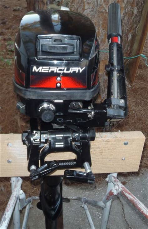 Used Outboard Kicker Motors For Sale by Used Mercury 8 Hp Outboard Motor For Sale Mercury Outboards