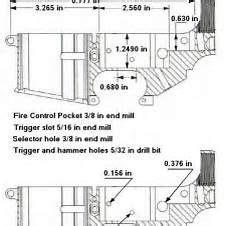 drilling ar   receiver dimensions gun stuff