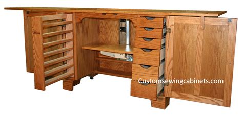Custom Sewing Machine Cabinets by Custom Sewing Cabinets