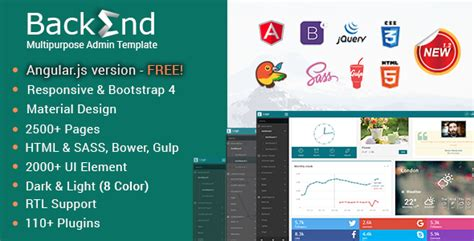 bootstrap 4 templates free backend responsive bootstrap 4 admin dashboard template themekeeper