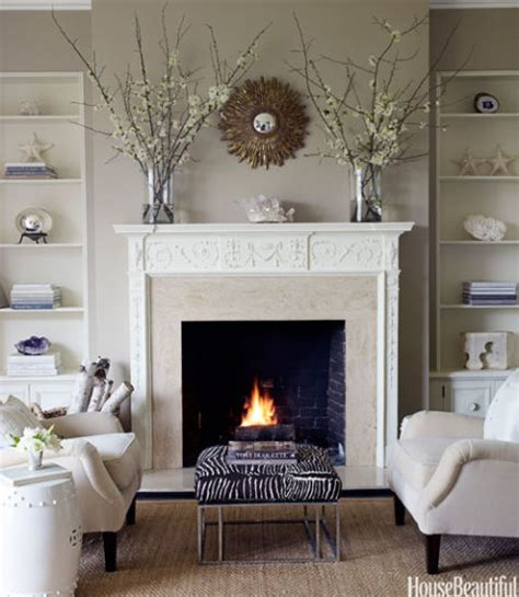 Decoration For Fireplace - cozy fireplaces fireplace decorating ideas