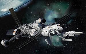 concept ships: Spaceships by Isaac Hannaford