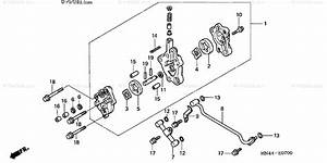 Honda Atv 2001 Oem Parts Diagram For Oil Pump