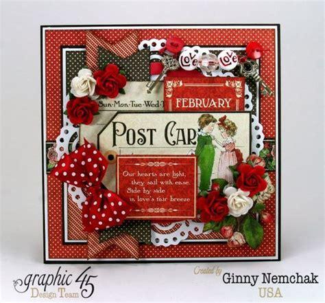 childrens hour graphic  valentine card ginny nemchak