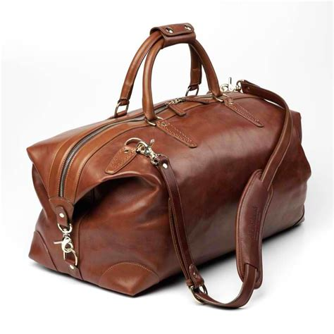 leather duffle bag  fashion bags