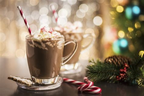 Candy Cane Mocha Hot Chocolate - Easy Home Meals