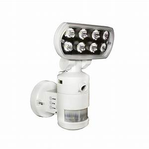 Nightwatcher pro led security motion tracking flood light