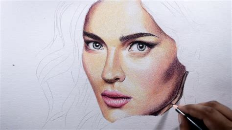 draw skin basic tips  colored pencils youtube