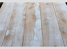 DIY How To Make A Distressed Wood Tabletop for Food