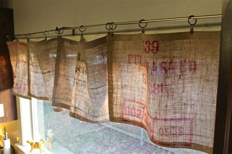 sewing drapes and curtains burlap valance 16 unique diy patterns guide patterns