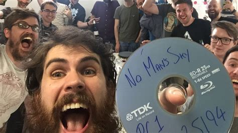 No Man's Sky has gone gold and Hello Games is well chuffed ...