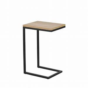 Table D Appoint Canapé : bout de canap bois et m tal temmelig drawer ~ Teatrodelosmanantiales.com Idées de Décoration