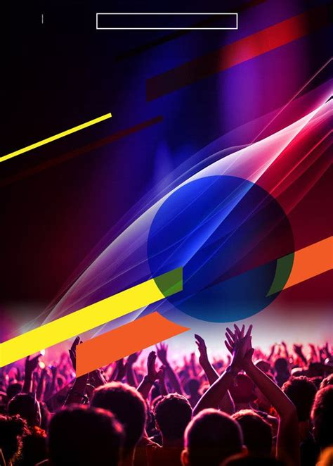 bar carnival color colorful poster background material