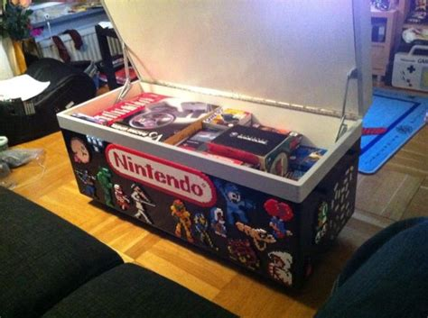 Diy Nes Coffee Table Can Also Be Used To Play