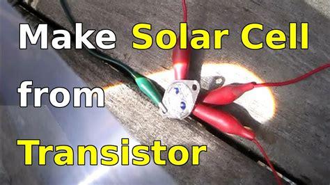 solar cell   power transistor