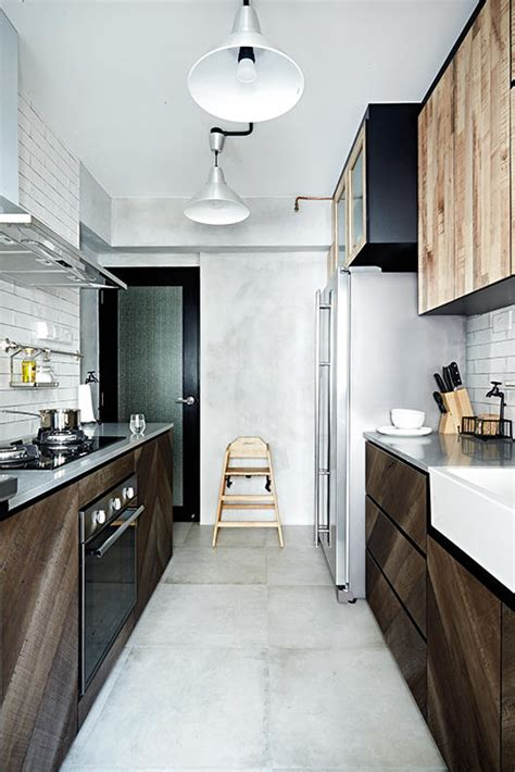trendy kitchens  hdb flat homes home decor singapore
