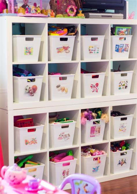 storage ideas  small kids bedrooms simple storage