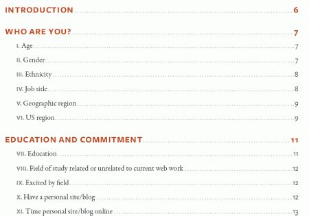 Top Word Templates With Table Of Content by Table Of Contents Creative Exles Smashing Magazine