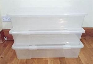 Samla Box Ikea : 3 ikea samla under bed boxes in west end glasgow gumtree ~ Watch28wear.com Haus und Dekorationen