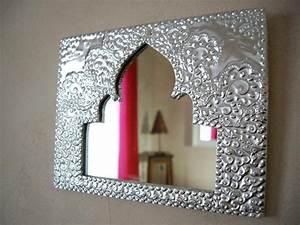 Décoration Murale Orientale : des miroirs la marocaine incontournabledeco ~ Teatrodelosmanantiales.com Idées de Décoration