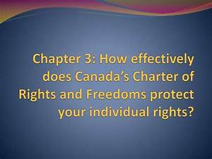PPT - Chapter 3: How effectively does Canada's Charter of ...