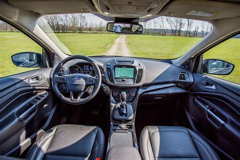 Ford Titanium Interni by Prova Ford Kuga Titanium 1 5 Tdci Powershift Live