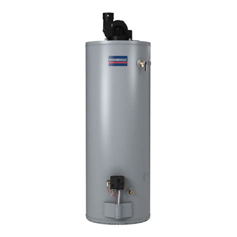 lowes water heaters shop powerflex direct 50 gallon 6 year gas