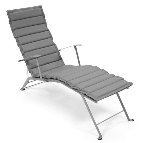 coussins pour chaises coussin pour chaise longue polyester enduit pvc bistro gris